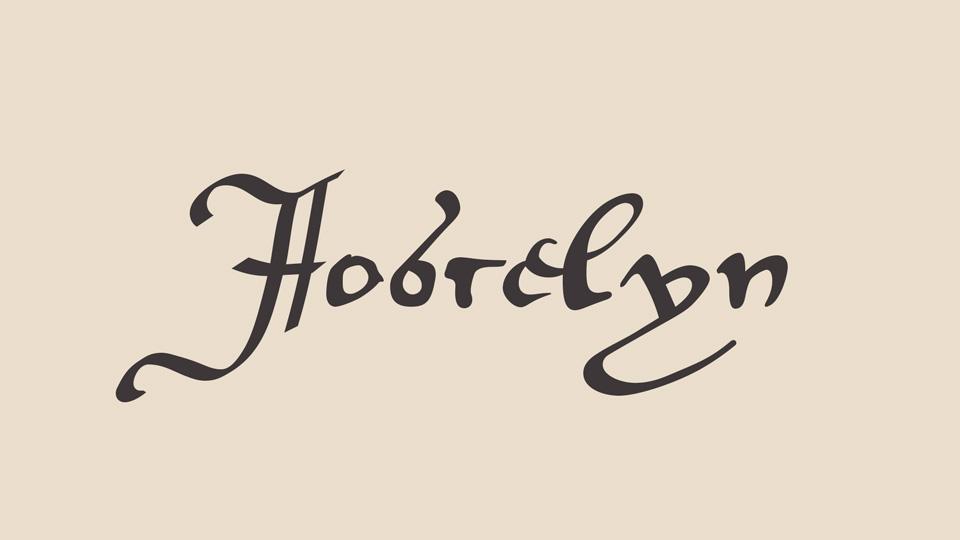 jocselyn font