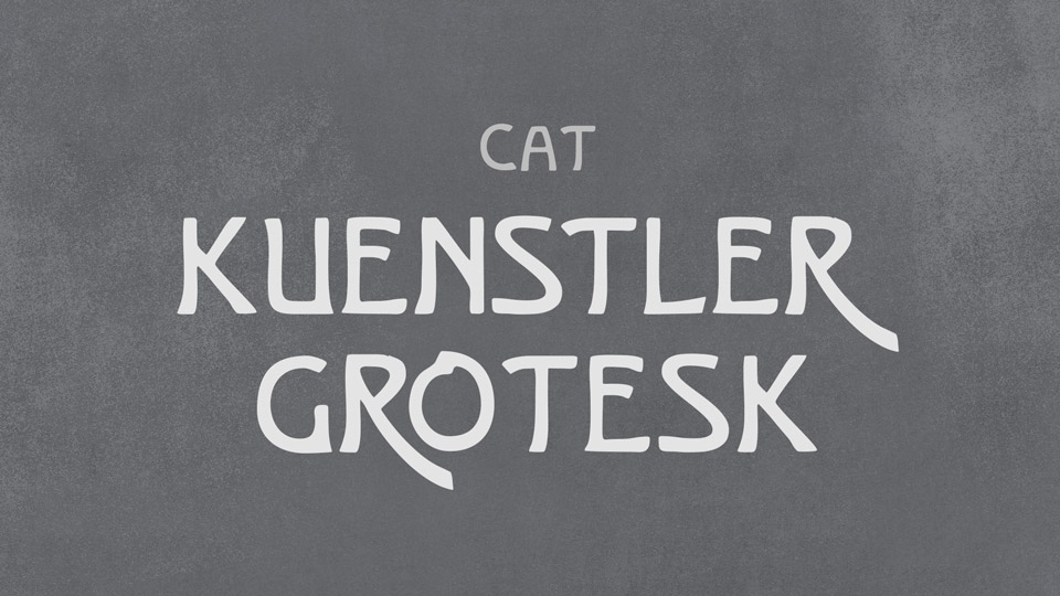 kuenstler_grotesk
