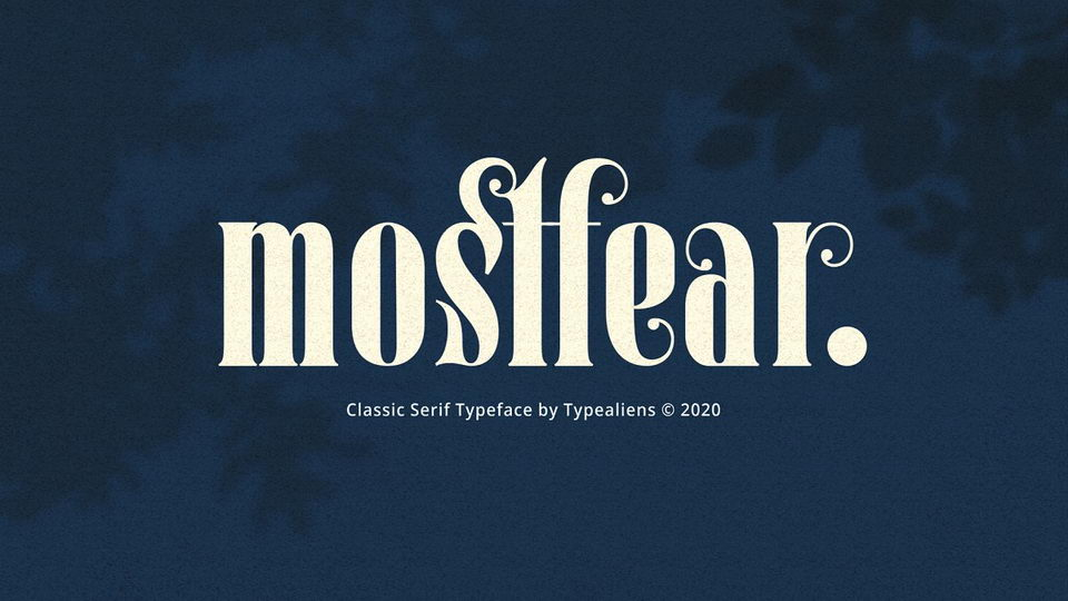 mostfear font
