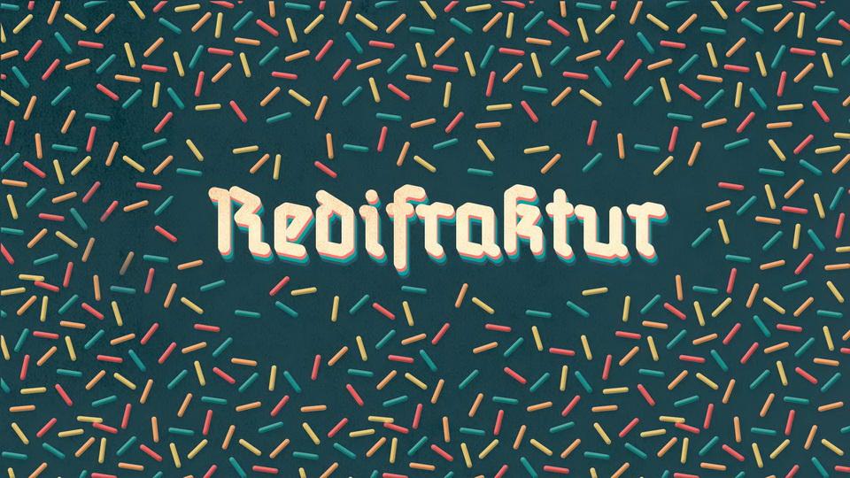 redifraktur typeface