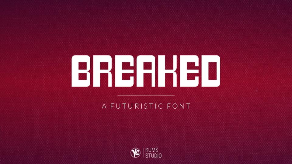 breaked