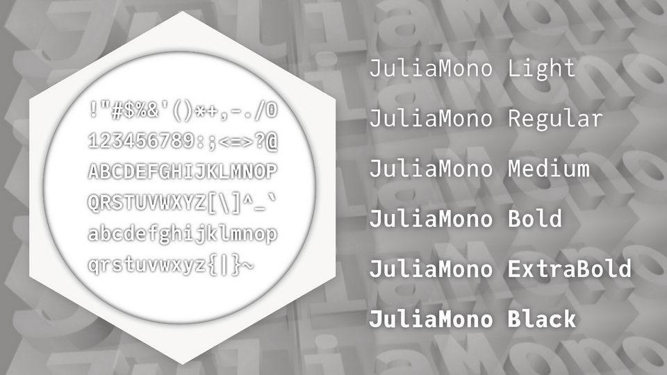 juliamono-5