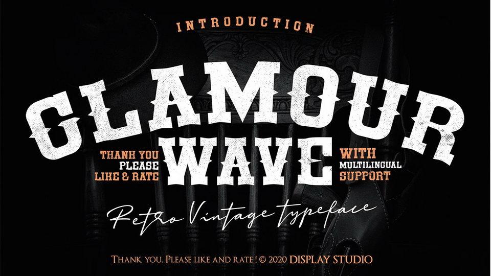 glamourwavefont-1