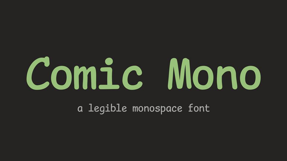 comic_mono