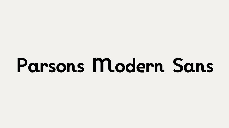 parsons_modern_sans