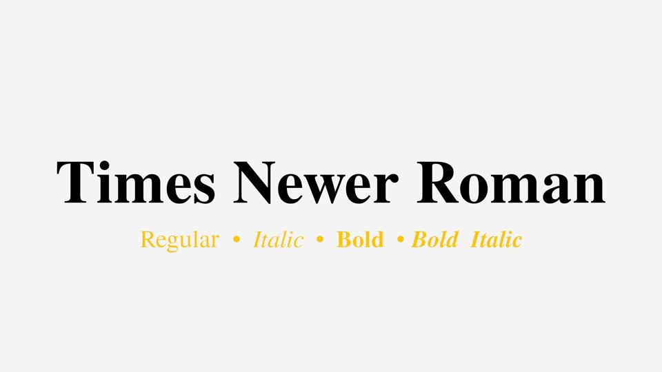 times_newer_roman