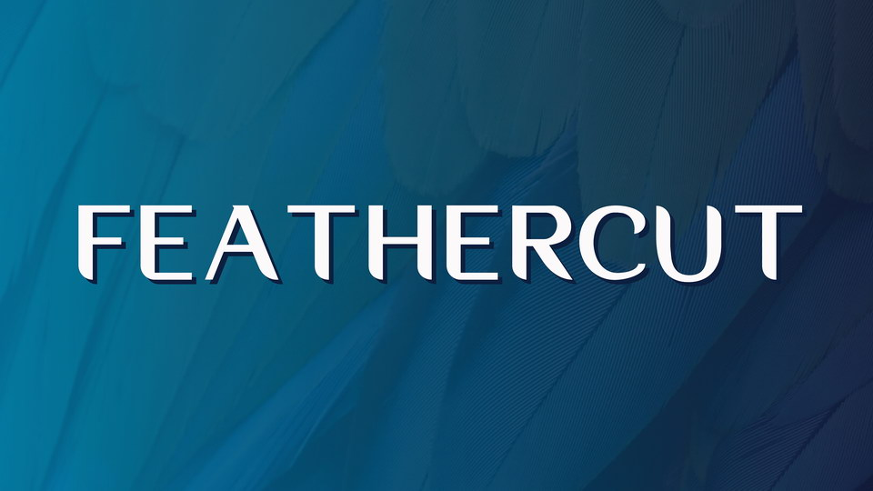feathercut