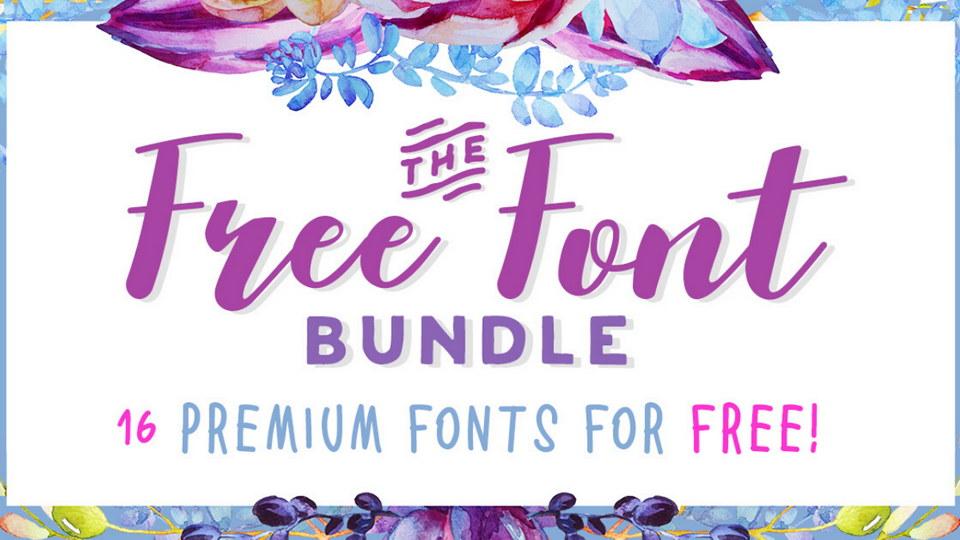 Free-Font-Bundle-1