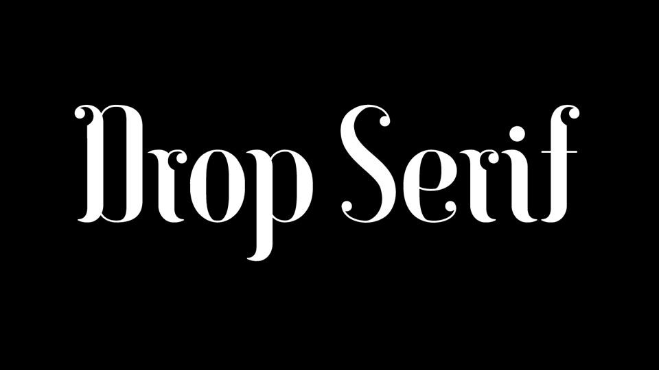 drop_serif