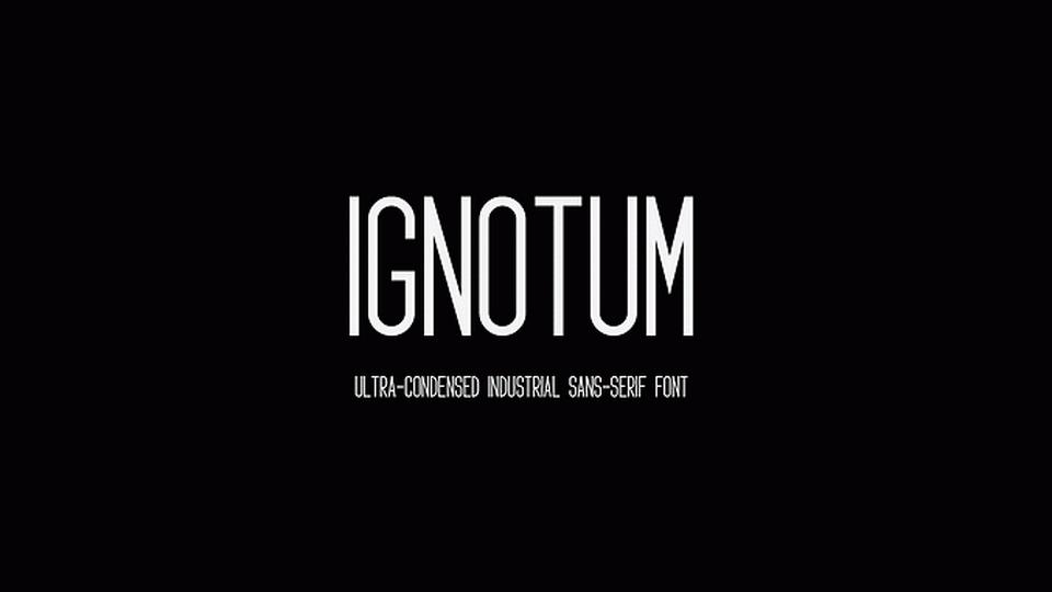 ignotum