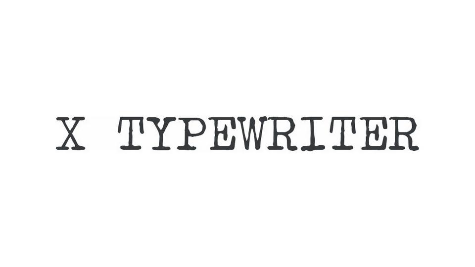 x_typewriter